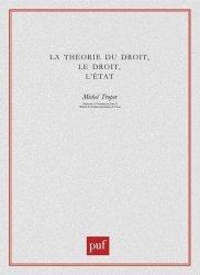 La théorie du droit, le droit, l'Etat