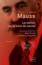 La nation, ou le sens du social