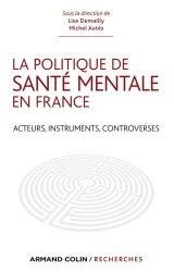 La politique de santé mentale en France