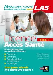 LAS - Licence Accès Santé - Tome 1