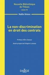 La non-discrimination en droit des contrats