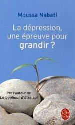 La dépression, une épreuve pour grandir
