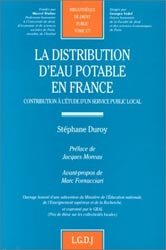 La distribution d'eau potable en France