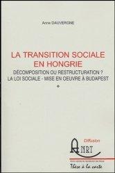 La transition sociale en Hongrie