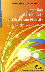 La notion d'utilité sociale au défi de son identité dans l'évaluation des politiques publiques