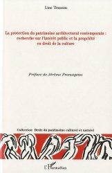 La protection du patrimoine architectural contemporain