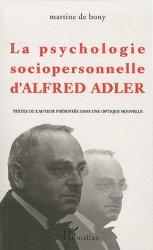 La psychologie sociopersonnelle d'Alfred Adler