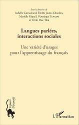 Langues parlées, interactions sociales