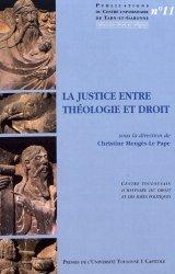 La justice entre théologie et droit