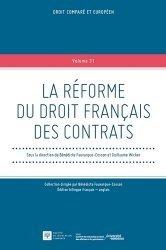 La réforme du droit français des contrats. Edition bilingue français-anglais