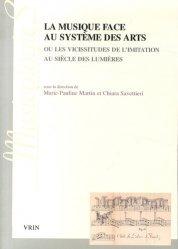 La musique face au système des arts ou les vicissitudes de l'imitation au siècle des Lumières