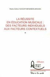 La réussite en éducation musicale : des facteurs individuels aux facteurs contextuels