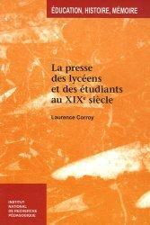 La presse des lycéens et des étudiants au XIXe siècle