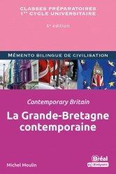 A paraitre dans Anglais, La Grande-bretagne contemporaine / Contemporary britain