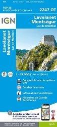 La couverture et les autres extraits de Roquefort, Cazaubon. 1/25 000