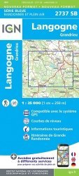 La couverture et les autres extraits de Carte Canigou : Fenouillèdes, Conflent, Vallespir, Parc naturel régional des Pyrénées Catalanes. 1/50 000