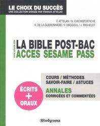 La bible post-BAC
