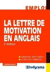 La couverture et les autres extraits de Le grand livre de la lettre de motivation. Edition 2018-2019