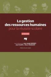La gestion des ressources humaines pour la réussite scolaire