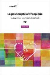 La gestion philanthropique, 2e édition