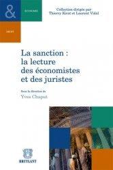La sanction : la lecture des économistes et des juristes