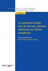 La coopération loyale dans le droit des relations extérieures de l'UE