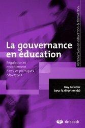 La gouvernance en éducation