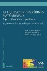 La couverture et les autres extraits de Droit des régimes matrimoniaux. 11e édition