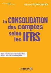 La consolidation des comptes selon les IFRS