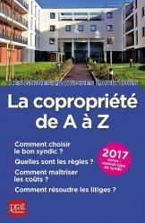 La copropriété de A à Z. Edition 2017