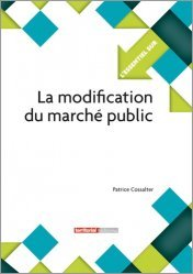 La modification du marché public