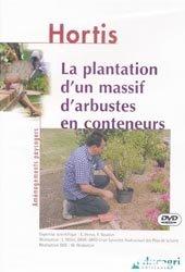 La plantation d'un massif d'arbustes en conteneurs