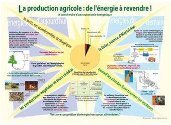 La production agricole : de l'énergie à revendre