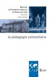 La pédagogie universitaire