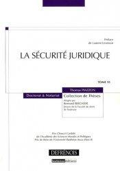 La sécurité juridique