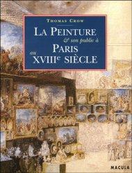 La peinture et son public au dix-huitième siècle
