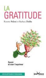 La gratitude. Savoir et oser l'exprimer