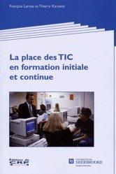 La place des TIC en formation initiale et continue