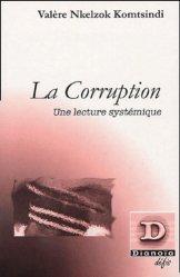 La corruption. Une lecture systémique