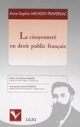 La citoyenneté en droit public français