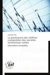 La pertinence des chiffres comptables des sociétés tunisiennes côtées