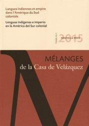 Langues indiennes et empire dans l'Amérique du Sud coloniale