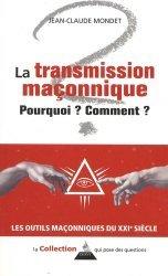La transmission maçonnique