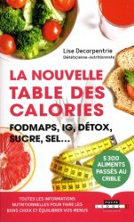 La nouvelle table des calories