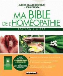 La couverture et les autres extraits de La Bible de l'homéopathie