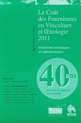 Le coût des fournitures en viticulture et oenologie 2011