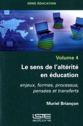 Le sens de l'altérité en éducation