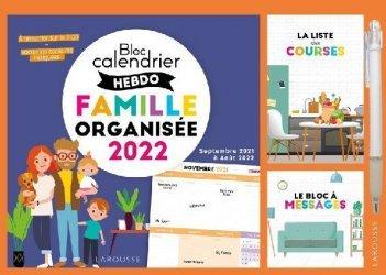 Le petit calendrier hebdo de la famille organisée