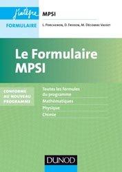 Le formulaire MPSI