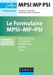Le formulaire MPSI-MP-PSI